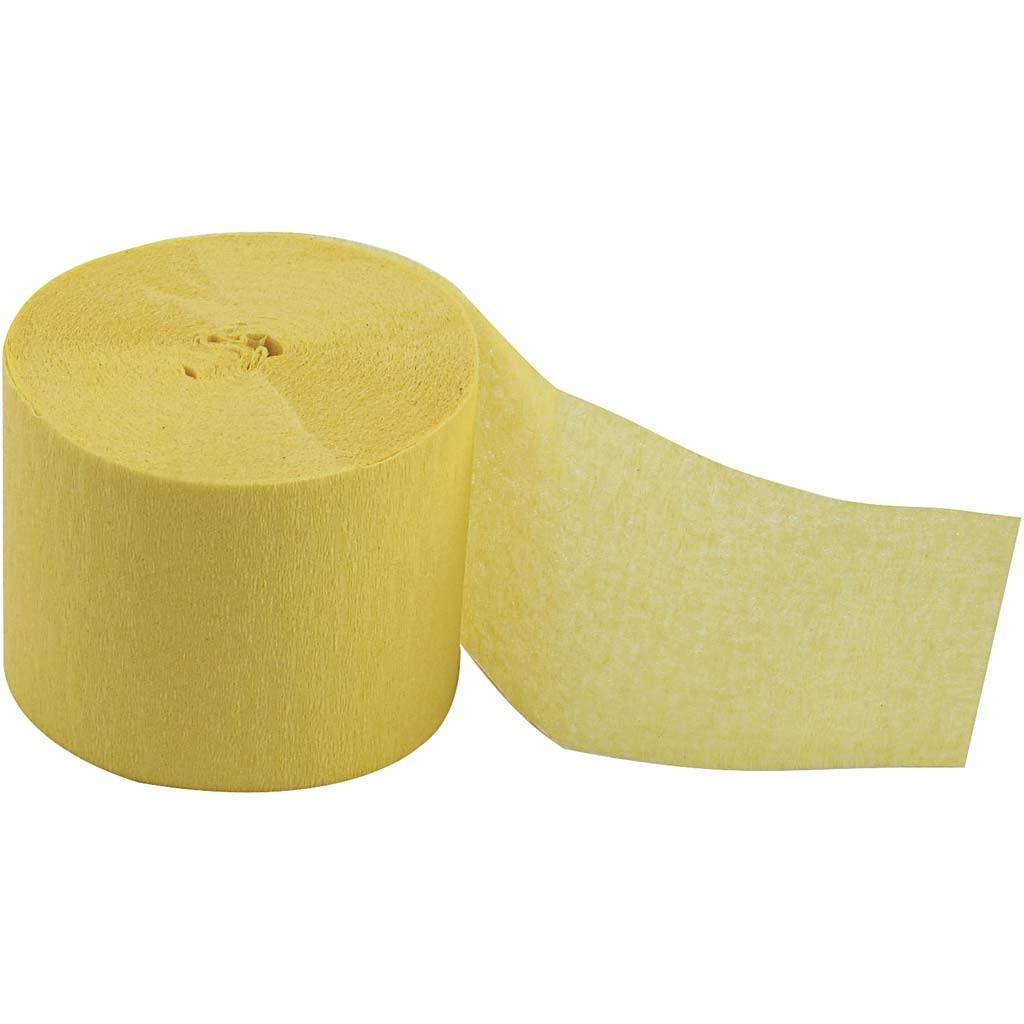crepeb nd 5cm x 20m gul alt til kontoret papirg rden grenaa. Black Bedroom Furniture Sets. Home Design Ideas