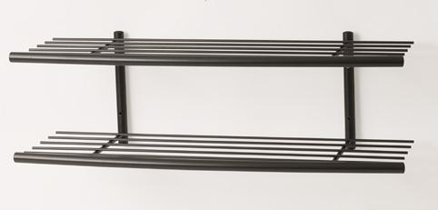 Fantastisk Lastein Skohylde væg sort 100 cm - Alt til kontoret – Papirgården LJ08